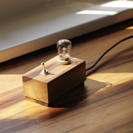 tiny block lamp